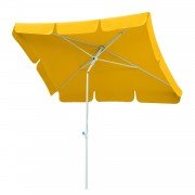 Parasol Ibiza - staal/polyester wit/goudgeel staal/wit polyester/goudgeel 180x120cm, Schneider Schirme