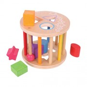 Bigjigs Toys First Rolling Shape Sorter by Bigjigs Toys