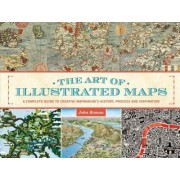 The Art of the Illustrated Map by John Roman