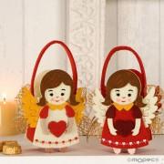 Cestita angelitas con bombones
