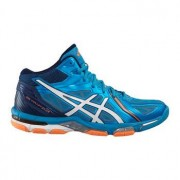 Asics Gel-Volley Elite 3 MT blau / weiß / orange UK 11,5 US 12,5 EU 47 30 cm