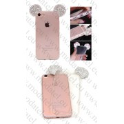 Apple Iphone 6 4.7 Inch / iPhone 7 (калъф ТПУ) '3D Diamond Mouse Ears style''