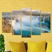 Декоративeн панел за стена с изглед на величествен водопад Vivid Home