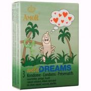 Preservativos Amor Wild Dreams Estriados (3 Un)