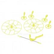 Protector de parachoques protector de la hoja de helice para Cheerson CX-10 - amarillo