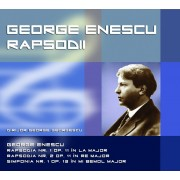 George Enescu - Rapsodia nr.1 & 2,Simfonia nr.1 Dirijor:George Georgescu (CD)