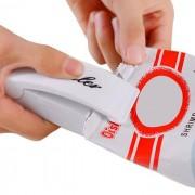 rosegal Mini Handy Heat Instant Sealer Manual Closer for Kitchen Food Storage Plastic Bags (White)