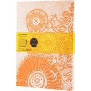 Moleskine Cover Art Flower Fantasy Squared Journal by Moleskine