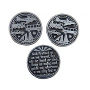 Travelers Token 3 Coins/God Protect Us as We Travel