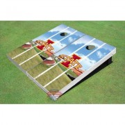 "All American Tailgate NCAA Stadium Long Strip Cornhole Board ALMT1083 NCAA Team: Iowa State University """"I"