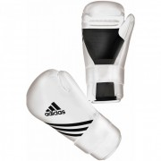 Adidas Semi Contact Gloves Wit - XS