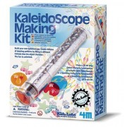 Kaleidoscope Making Kit by 4M Kidz Labs! For Ages 7+ Make different kinds of kaleidoscopes and create millions of dazzling patterns by filling in different trinkets into the object chamber