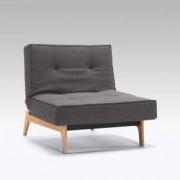 Innovation Splitback Wood Eik Sessel B: 1150 H: 790 T: 1150 mm, eiche/dunkelgrau 95-74101144216-5-2