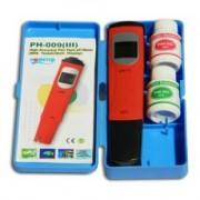 pH / °C - mérő kalibráló oldattal