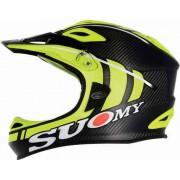 Suomy Jumper Carbon Downhill Fahrradhelm Neon Gelb