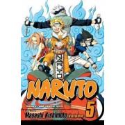 Naruto: v. 5 by Masashi Kishimoto