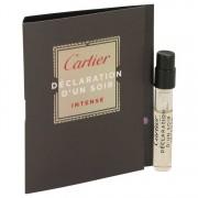 Cartier Declaration D'un Soir Intense Vial (Sample) 0.05 oz / 1.48 mL Men's Fragrances 537050