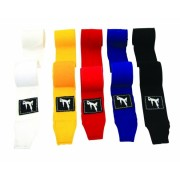 Bruce Lee Boxing Wraps 450cm - White