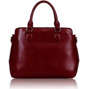 Kabelka LS00231 - Red Grab Tote Bag