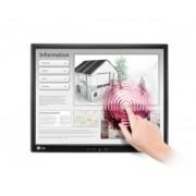 LG - 17MB15T-B - 17MB15T-B - 17 inch - 1280 x 1024 pixeli - 5:4 - 5 ms - Dimensiune punct 0.264 mm - Touchscreen - D-Sub - USB - Negru