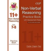 The 11+ Non-Verbal Reasoning Practice Book with Assessment Tests Ages 7-8 (GL & Other Test Providers) by CGP Books