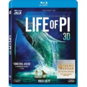 LIFE OF PI BluRay 3D +2D 2012 Steel Book - 2 discs