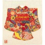 "Oshie to make with crepe panami ""K-Komachi Kit"" / red (japan import)"