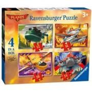 Puzzle Disney Planes 2, 4 Buc In Cutie, 12/16/20/24 Piese
