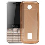 ECellStreet Case,Orange Soft ,Lightweight,Shock Absorbing Tpu Back Case Cover For Karbonn K451 Plus Sound Wave