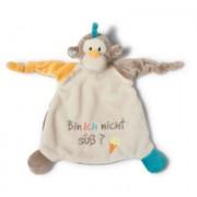 NICI My First NICI Knuffeldoek Aap: Bin ich nicht süß? 25 x 25 cm