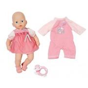 Zapf Creation-Il mio primo completino Baby Annabella 794333 Bambola con tutina rosa