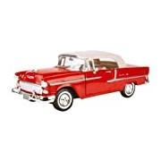 American Classics 1955 Chevy Bel Air 1:18 Scale Premium Die-Cast Model (Red)