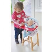Indigo Jamm KIJ10025 Hearts High Chair Doll