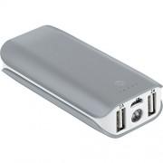 Bticino S2617 USB Power Bank de Capacidad 5000 mAh, Color Gris