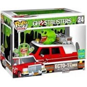 Figurina Pop! Rides Ghostbusters Ecto-1 With Slimer