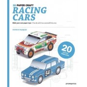 Racing Cars 3D Paper Craft by P. Pasques