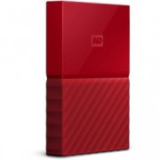 Western Digital netwerk harddisk MY PASSPORT 1TB RED