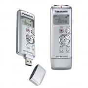 Panasonic RR-US310 Gravador Digital De Audio Voz, 2Gb, Prata