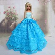 Princesa Vestidos Para Barbie Doll Azul Vestidos
