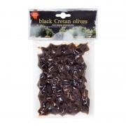 Krétské černé sušené olivy CreTasty 220g
