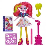 My Little Pony Equestria Girls Stamp Pad Guitar and Stamper Shoes Pinkie Pie Doll