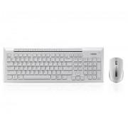 KBD, Rapoo 8200P, Desktop, Wireless, White