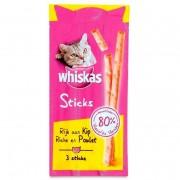 Whiskas Rijk aan Kip 3 Sticks 18 g