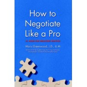 How to Negotiate Like a Pro by Mary Greenwood