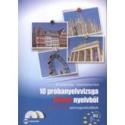 10 próbanyelvvizsga német nyelvből B2 Szint (Dupla Cd-vel)