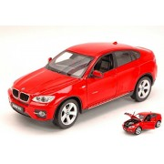 Rastar 1:24 X6 Die Cast Scale BMW , White/Red