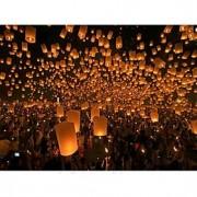 lanternas de balão de ar quente céu lanterna vôo que desejam lâmpada