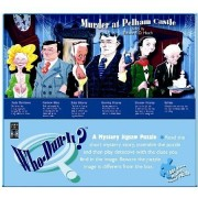 Who-Dun-It? Murder at Pelham Castle - Mystery Jigsaw Puzzle by Lagoon Puzzles