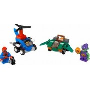 Set Constructie Lego Super Heroes Marvel Mighty Micros Spider-Man Vs. Green Gobl