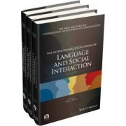 The International Encyclopedia of Language and Social Interaction by Karen Tracy